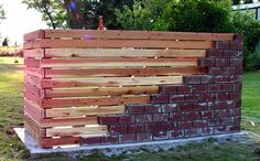 Brick + Wood Fence - Seth Ellsworth