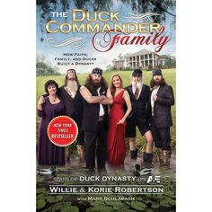 Faith. Family. Ducks-in that order. This book gives readers an up-close and personal, behind-the-scenes look at the family. This Louisiana bayou family operates Duck Commander, a booming family business that has made them millions. You'll hear all about the Robertson clan from Willie and what it was like growing up in the Robertson household. You'll sample some of Willie's favorite family recipesFor more coupons and discounts visit: LBarabino.wakeupnow.com
