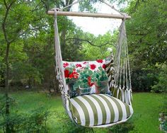 Geranium Swing Set http://www.smallbynature.com/outdoor-living/hammock-and-swing-sets-backyard-swing-sets-garden-swing-sundure-hammocks-outdoor-swings-small-by-nature/geranium-swing-set.html #summer #garden