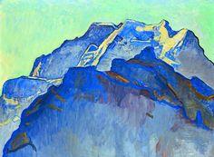 Ferdinand Hodler - Symbolism - Switzerland - Mountains Landscape