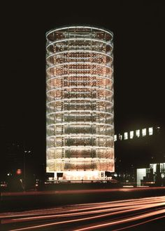 Tower of the Winds, Yokohama / Toyo Ito. Building that responds to the sound and light of the city.