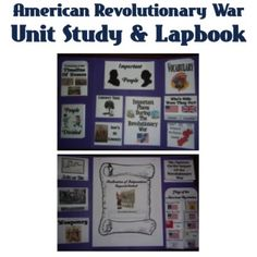 American Revolution   Unit Study & Lapbook @ Notebooking Nook