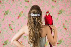 Tropical, Rose, Hair Styles, Beauty, Collection, Beleza, Pink, Roses, Hair Looks