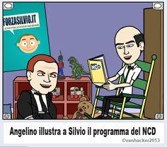 Bitstrips Silvio