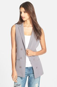 Mural+Blazer+Vest+(Nordstrom+Online+Exclusive)+available+at+#Nordstrom