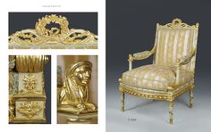 Bespoke carved gilded Louis 17th chair of MA collection by www.rubensartgallery.com