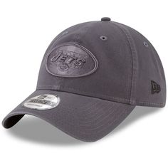 6f85958a2cd New York Jets New Era Core Classic Tonal Adjustable Hat - Graphite