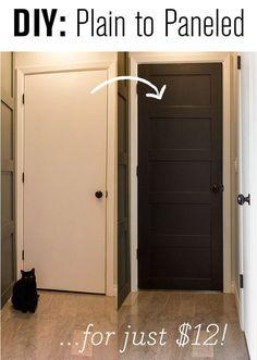 The easiest flat panel door update ever!   Jenna Sue Design Blog