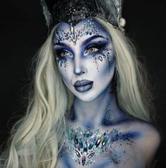 50 Best Face And Body Art Images In 2020 Halloween Makeup Costume Makeup Fantasy Makeup