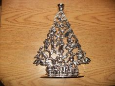 """Godinger Silverplated 11"""" Christmas Tree Candle Holder by Godinger. $29.95. 11"""" x 7 3/4"""" With Felt Base. Godinger Silverplated Christmas Tree Candlestick Holder Shape Filled With Christmas Images"""