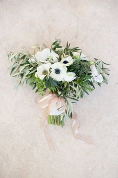 olive branch and herb bouquet - Google Search