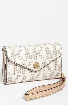 MICHAEL Michael Kors iPhone 5 Wristlet available at #Nordstrom