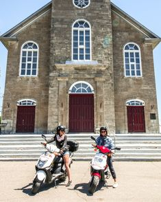 #iledorleans #electricbikes #bikes #scooters #hybridbikes #quebecregion #iledorleans #tourism #tours #fun #outdoors #bikes #quebecregion #quebecoriginal #quebeccity Quebec, Beaux Villages, Scooters, Tours, Culture, History, Amazing, Pictures, The Originals