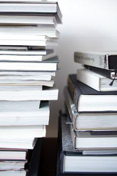 Books boeken zwart wit