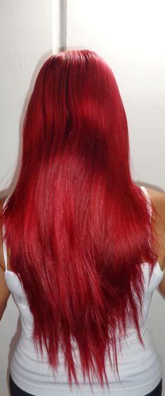 pelo largo dama fantasía
