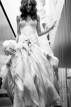 Rebecca Judd's wedding gown by J'aton.