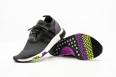 79731f3d adidas NMD_Racer PK | Carbon/Black/Solar Yellow | Mens Trainers [B37640] # adidas #RunningShoes. Sole Compare · Adidas NMD