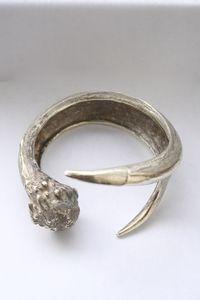 Looks like a deer antler in silver....@Sally Hedin