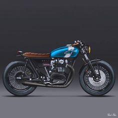 Yamaha, cafe racer