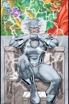White Lantern Professor Zoom variant cover from Green Lantern Corps 51 by giantsizegeek Dc Comic Books, Comic Book Covers, Comic Art, Green Lantern Corps, Flash Comics, Dc Comics Art, Hq Marvel, Marvel Dc Comics, Univers Dc