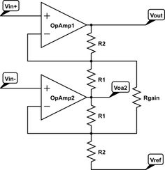 Op Amp ‪#‎InstrumentationAmplifier‬ circuit is a type of ‪#‎DifferentialAmplifier‬ that has been outfitted with input buffer amplifiers.