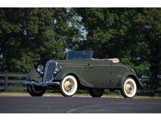 1934 Ford Model 40 Cabriolet