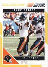 2011 Score Gold Zone #55 Lance Briggs BEARS MINT Have 1 for sell/trade