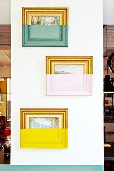 anciennes peintures modernisees