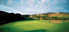 Golf course, Fairmont Zimbali Resort, KwaZulu-Natal, South Africa