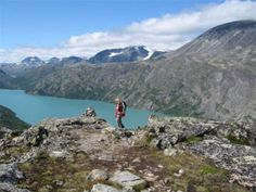 Mountain peaks hiking holiday in Norway - Travel