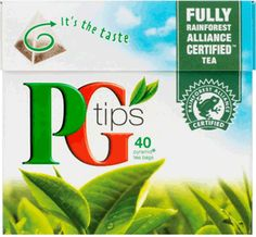 PG Tips is a delicious Black Tea from Britain! #BritishTea in the US.