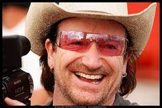 Bono in a cowboyhat Malcolm X, U2 Music, C G Jung, Paul Hewson, Bono U2, Rock And Roll Bands, Looking For People, Famous Singers, Raining Men