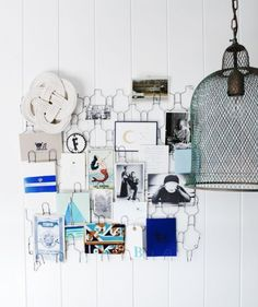 nice way to display postcards and photos.  Maybe in the studio.