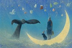 the blue whale picture book - Google Search