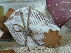 ptak drewniany, shabby chic, hand made, pracownia A.D.Home, dekoracje świąteczne, christmas Ad Home, Shabby Chic, Kleding, Shabby Chic Decorating