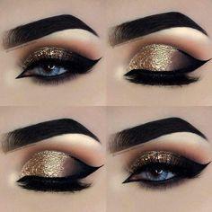 Eye make-up for beginners step by step -. - Eye make-up for beginners step by step – P R O M – # BEGINNER # eye … – Eye Makeup – # be - Eye Makeup Steps, Makeup Eye Looks, Beautiful Eye Makeup, Smokey Eye Makeup, Eyeshadow Makeup, Eyeshadow Palette, Sleek Makeup, Matte Eyeshadow, Makeup Palette