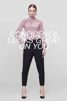 Confidence looks great on you - Kung Katherine FW14 collection