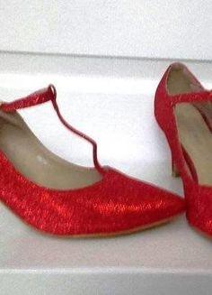 e25ccb8564075e Chaussure Femme Escarpin, Escarpins Rouges, Chaussures Femmes, Paillettes,  Talons, Ted,