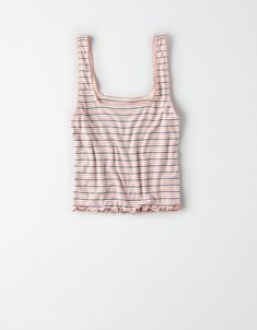 Shop Women's Layering Tank Tops from American Eagle online. Our Layering Tank Tops are available in tons of styles, colors and fabrics so you have the right one for you. American Eagle Outfits, American Eagle Shirts, American Eagle Sweater, Funny Tank Tops, Cute Tank Tops, Summer Outfits, Cute Outfits, Fashionable Outfits, Summer Clothes