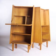 Anonymous; Cabinets by R. Gabriel, 1950s.