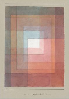 Blanc Polyphoniquement Serti - Paul Klee