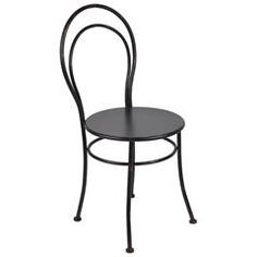 METAL CHAIR IN BLACK COLOR 40X40X87