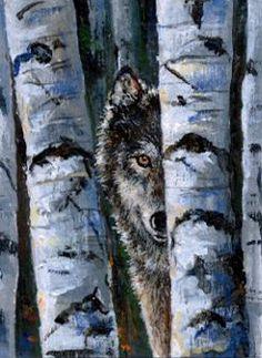 60 Best Wolf paintings/drawings images in 2017   Drawings, Wolf