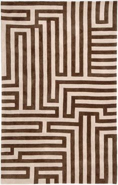 This Fusion Labyrinth Beige Collection rug is manufactured by Jaipur. Style and value strike a perfect balance in Fusion, one of Jaipur's popular collections of contemporary hand-tufted rugs. Jaipur Rugs, My Home Design, Modern Design, Geometric Rug, Geometric Patterns, Design Patterns, Pattern Ideas, Hand Tufted Rugs, Rugs Usa