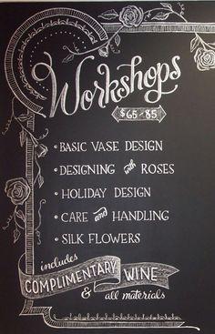 Have workshops !!