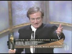 Robin Williams' 1998 Oscars Acceptance Speech Will Make You Smile