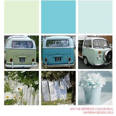 VW Campers Colours by daydreamdesignsnorthwales, via Flickr