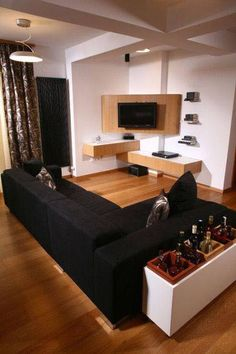 DIY Project Design Ideas For Cozy Small Living Rooms - home design Living Room Tv, Small Living Rooms, Living Room Furniture, Living Room Designs, Furniture Stores, Modern Living, Furniture Companies, Modern Apartment Decor, Rooms Home Decor