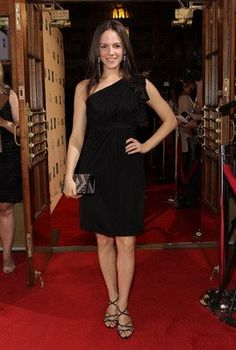 Anna Silk in One Shoulder Pleated Dress Kris Holden Ried, Anna Silk, Lost Girl, Celebs, Celebrities, Woman Crush, Beautiful People, Actresses, Formal Dresses