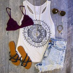 Love By The Moon Top